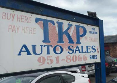 About TKP Auto Sales